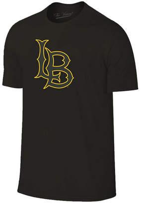 Champion Men Long Beach State 49ers Black Out Dual Blend T-Shirt
