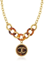 Just Cavalli Nature Medallion Stainless Steel Women's Necklace