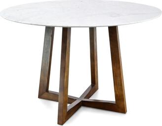 Calibre Furniture Kew Dining Table Walnut Small