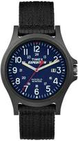 Timex Men's Expedition® Acadia Watch with Fabric Strap and Resin Case - Black TW49999009J