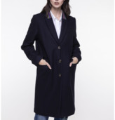 Trench & Coat - Ink Blue Rosiere Coat - 34