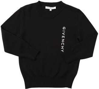 Givenchy WOOL & COTTON KNIT SWEATER