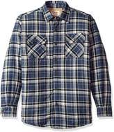 Wrangler Men's Authentics Long Sleeve Sherpa Lined Flannel Shirt