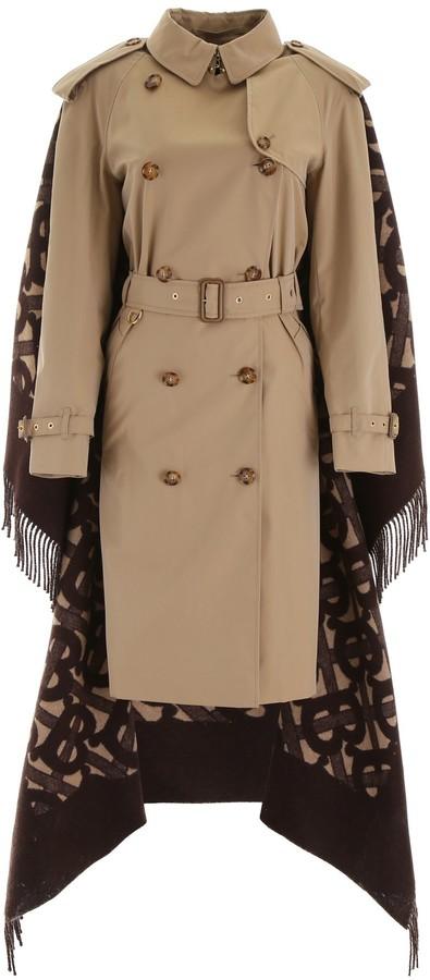 Burberry Blanket Detail Trench Coat