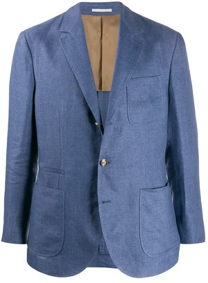Brunello Cucinelli Regular-Fit Multi-Pocket Blazer