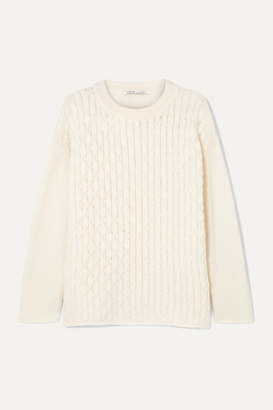 Agnona Open-knit Cashmere Sweater - Ivory