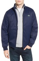 Lacoste Men's Herringbone Zip-Up Jacket