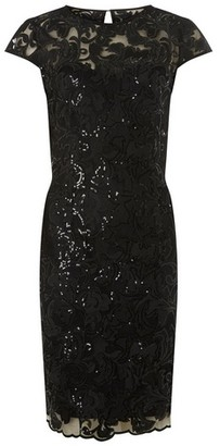 Dorothy Perkins Womens Showcase Black 'Cade' Bodycon Dress, Black