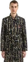 Kenzo Bamboo Printed Workwear Jacket