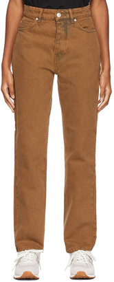 Won Hundred Brown Overdyed Pearl Jeans