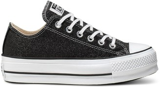 Converse Chuck Taylor All Star Platform Low Top Trainers