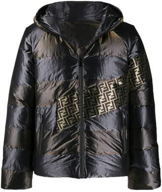 Fendi Metallic Down Jacket