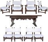 One Kings Lane Vintage Renaissance Revival Table & Chairs