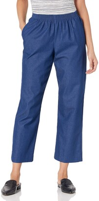 Alfred Dunner Women's Petite Short Denim Pant