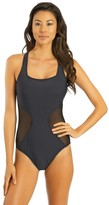 Athena Finesse Mesh One Piece Bathing Suit
