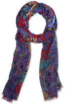 Patricia Nash Blue Forest Scarf