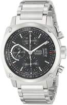 Oris Men's 43mm Steel Bracelet & Case Sapphire Crystal Automatic Dial Watch 67476164154MB