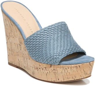 Veronica Beard Dali Woven Platform Wedge Sandal