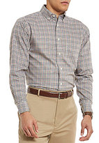 Daniel Cremieux Signature Non-Iron Royal Oxford Check Long-Sleeve Woven Shirt
