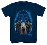 Star Wars Boys' Dark Side Group Shot T-Shirt - Navy