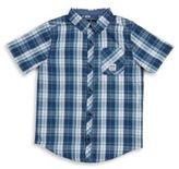 Buffalo David Bitton Boys Sentinal Plaid Shirt