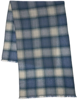 Isabel Marant Suzanne Plaid Scarf