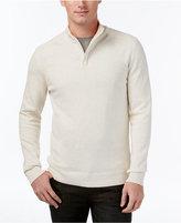 Alfani Men's Mock-Turtleneck Quarter-Zip Sweater, Only at Macy's