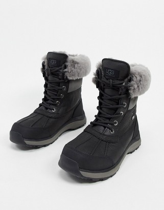 UGG Adirondack III lace up boots in black