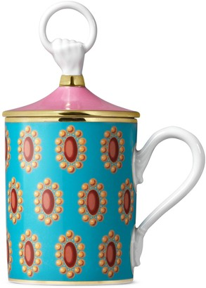 Gucci Broche hand and ring mug