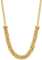 Lord & Taylor 14K Italian Gold Braided Necklace