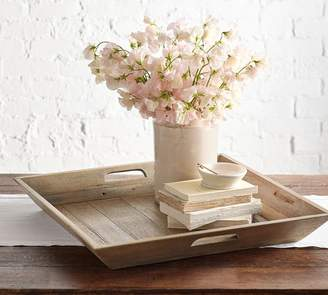 Pottery Barn Wooden Crate Tray