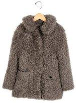 Little Marc Jacobs Girls' Faux Fur Jacket