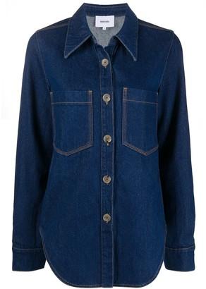 Nanushka Long-Sleeved Button-Up Shirt