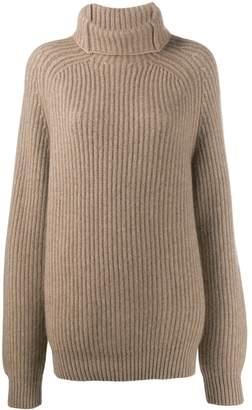Haider Ackermann ribbed knit jumper