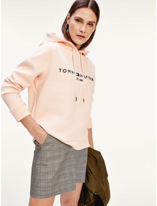 Tommy Hilfiger Relaxed Fit Logo Hoodie