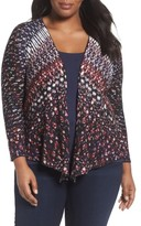 Nic+Zoe Plus Size Women's Grace 4-Way Convertible Cardigan
