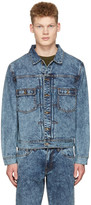 Saturdays Nyc Blue Denim Ray Jacket