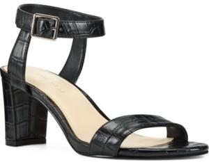 Nine West Pixel City Block-Heel Sandals Women's Shoes