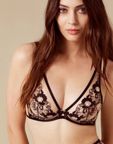 Agent Provocateur Janie Bra Black And Peach