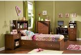 South Shore Jumper 1-Drawer Nightstand in Classic Cherry