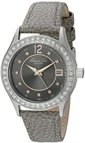 Kenneth Cole New York Women's 10020852 Classic Analog Display Japanese Quartz Grey Watch
