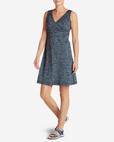 Eddie Bauer Women's Aster Crossover Dress - Spacedye