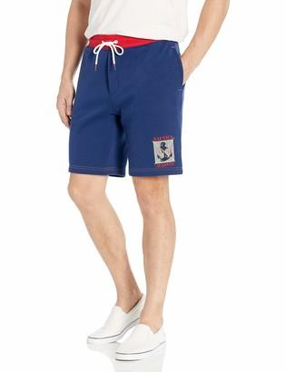 Nautica Jeans Co. Men's Patch Knit Shorts