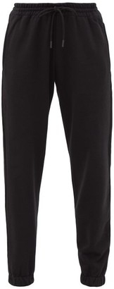 Wardrobe NYC Release 02 Drawstring-waist Cotton Track Pants - Black