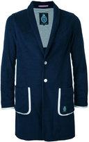 GUILD PRIME long blazer - men - Cotton/Polyester - 1