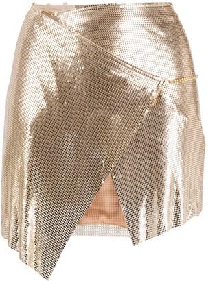 Poster Girl Winona chainmail mini skirt