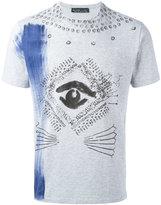 Etro eye print T-shirt - men - Cotton - S