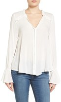 Band of Gypsies Romantic Ruffle Blouse