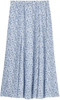 Banana Republic ECOVERO™ Long Midi Skirt