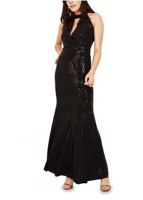 Mimi + Alice Eva Long Evening Dress